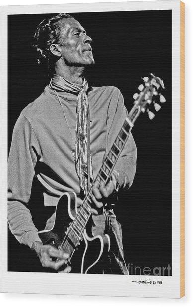 Chuck Berry 2 Wood Print