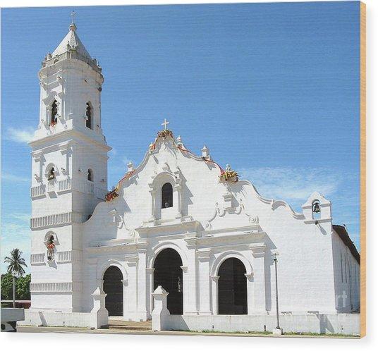 Church Of Nata De Los Caballeros Wood Print