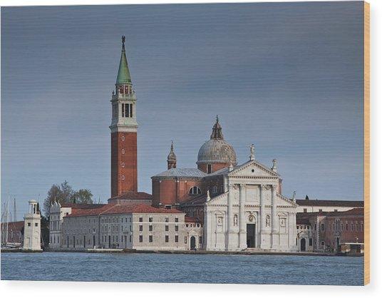 Church Of San Giorgio Maggiore Venice Italy Wood Print