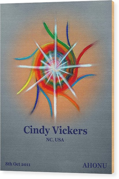 Cindy Vickers Wood Print