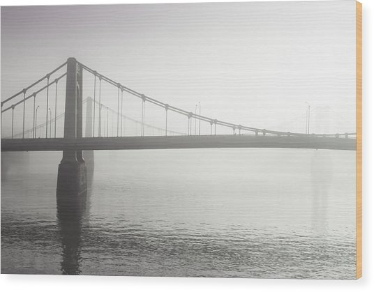 City Of Bridges Wood Print by Jason Heckman