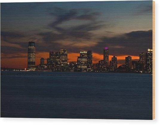 City Skies Wood Print by Michael Murphy