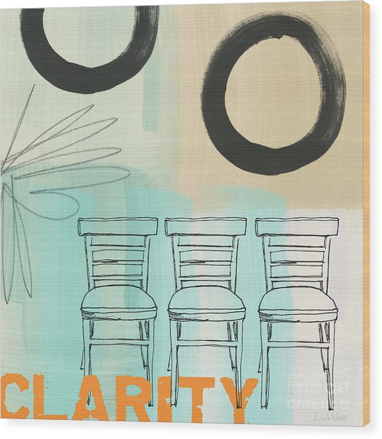 Clarity Wood Print