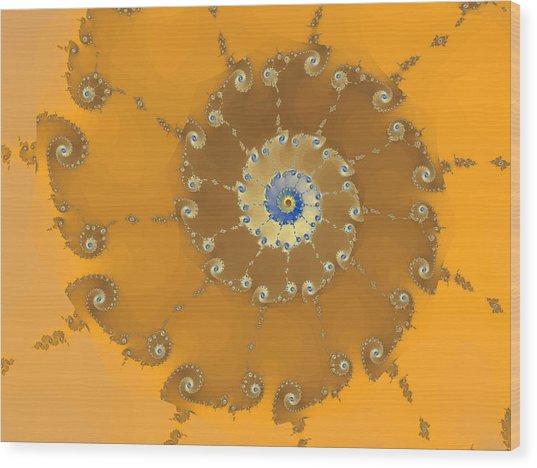 Classic Nautilus Wood Print