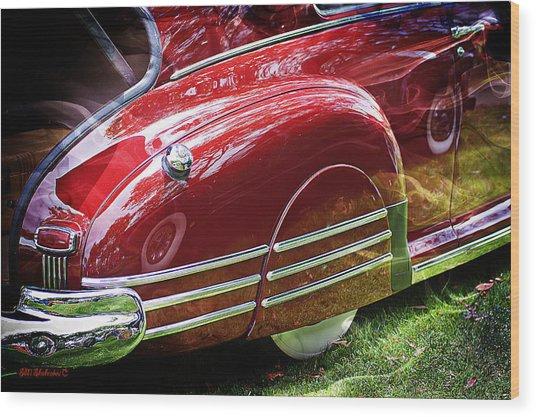 Classic Pontiac Wood Print by SM Shahrokni