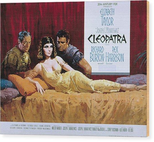 Cleopatra Rex Harrison Elizabeth Photograph By Everett