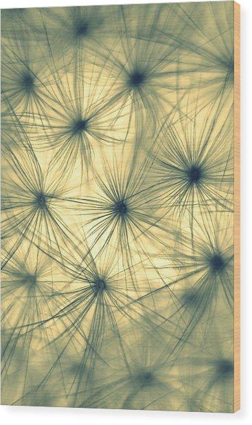 Clocks II Wood Print by Jacqui Collett