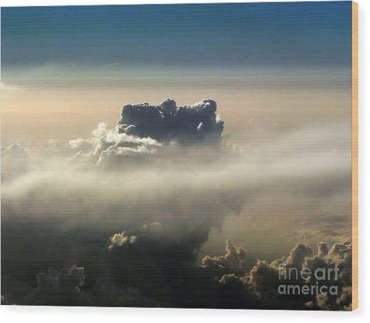 Cloud Series 5 Wood Print