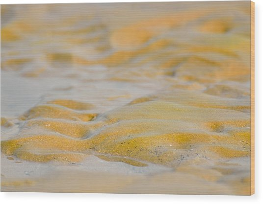 Coastal Abstract Wood Print