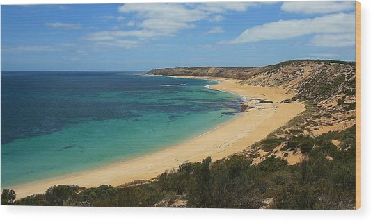 Coffin Bay Np 04 Wood Print by David Barringhaus