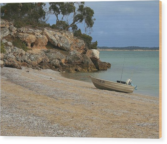 Coffin Bay Np Wood Print by David Barringhaus