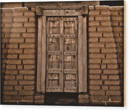 Albuquerque, New Mexico - Colonial Gate Wood Print