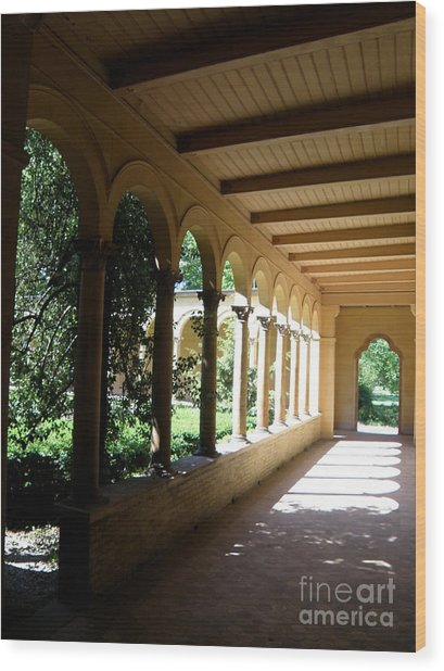 Colonnade  2 Wood Print by Tanya  Searcy