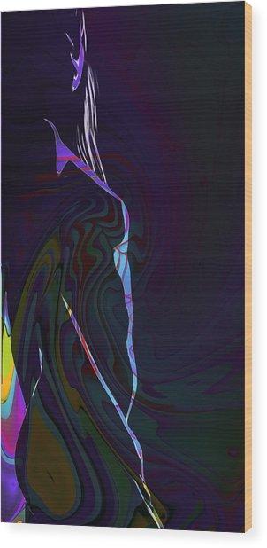 Color Body Wood Print