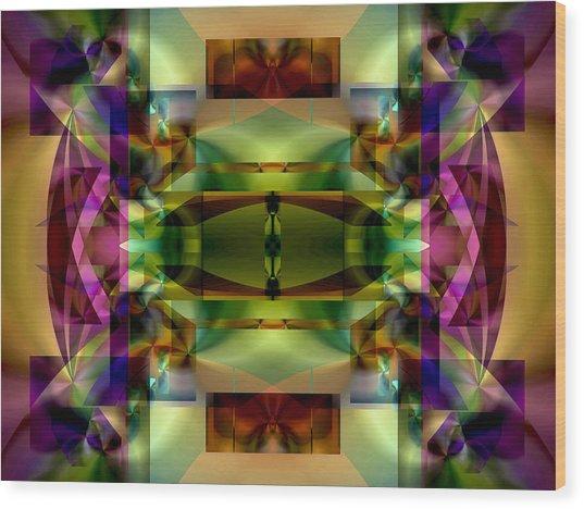 Color Genesis 1 Wood Print