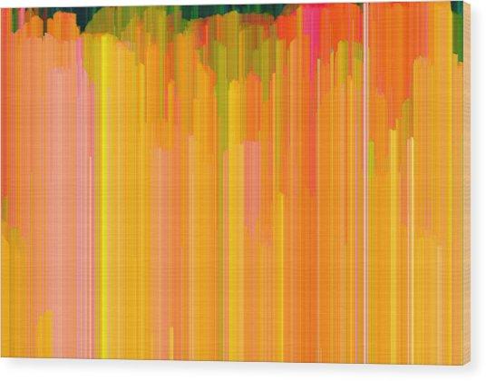 Color Tones 2  Wood Print by Lyle Crump