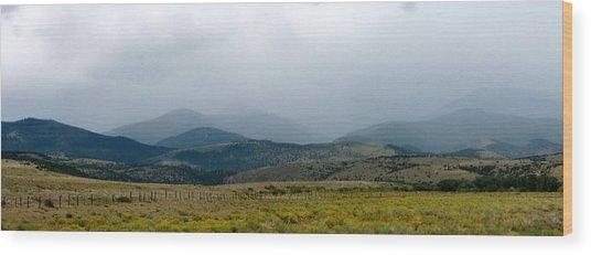 Colorado Foothills Wood Print by Daniel Dodd