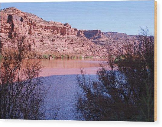 Colorado River After Rain - Utah Wood Print