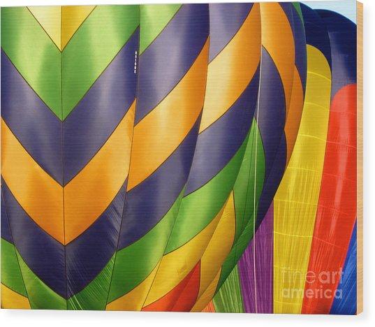 Colors 5 Wood Print