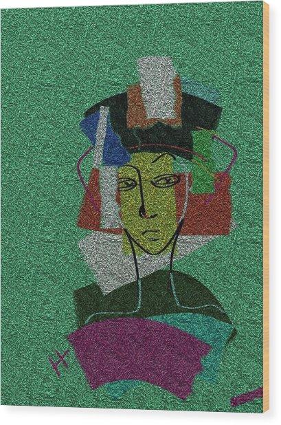Colours Of My Woman Wood Print by Hayrettin Karaerkek