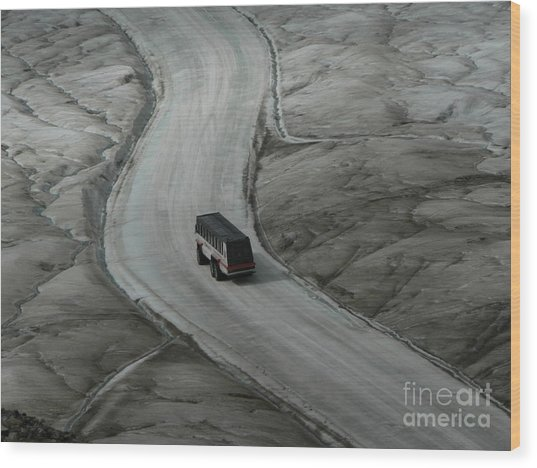 Columbia Icefield Glacier Adventure Wood Print