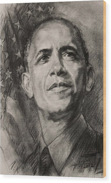 Commander-in-chief Wood Print