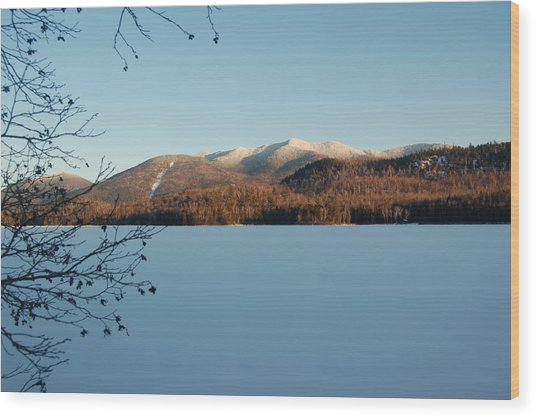 Connery Pond Wood Print