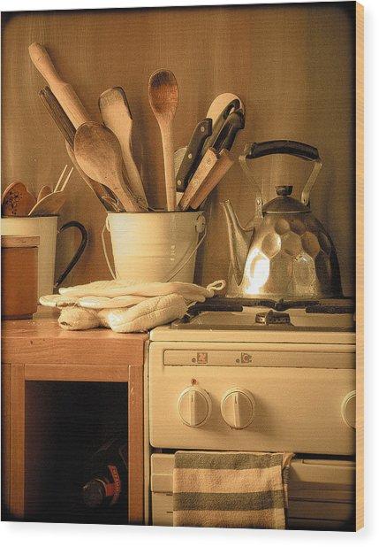 Athens, Greece - Cook's Tools Wood Print