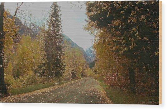 Copper Lane Wood Print