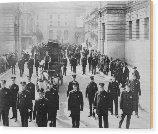 Cops, 1922 Wood Print by Granger
