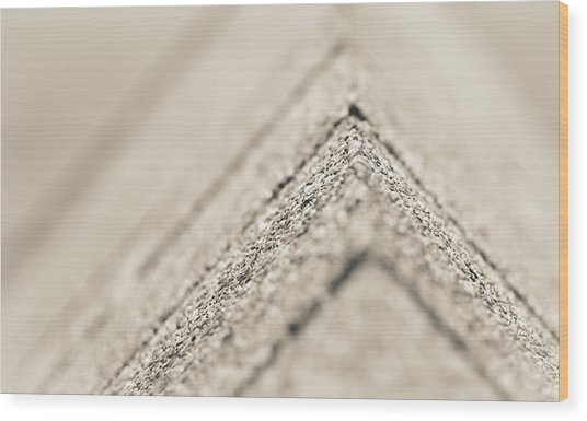 Corner Depth Wood Print by Jason Heckman