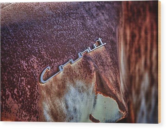 Coronet Wood Print by Richard Steinberger