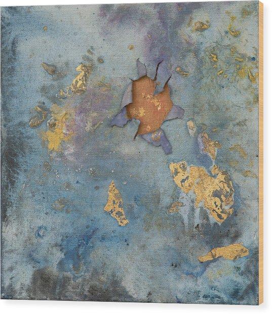 Cosmic 25 No.1 Wood Print by Rita Bentley