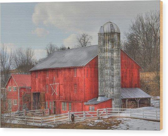 Country Feeling Wood Print
