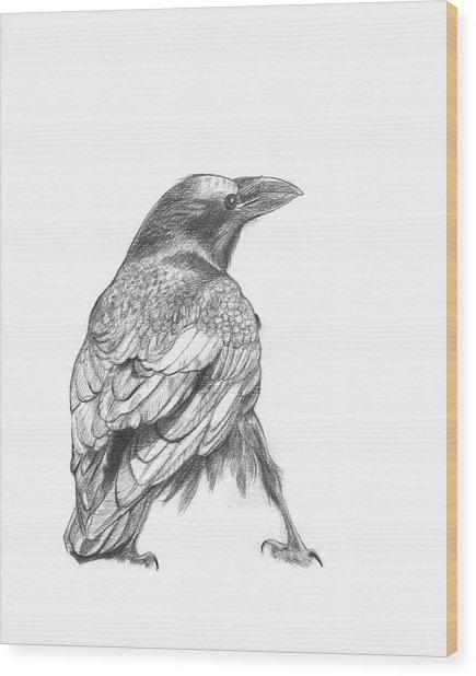 Crow Wood Print