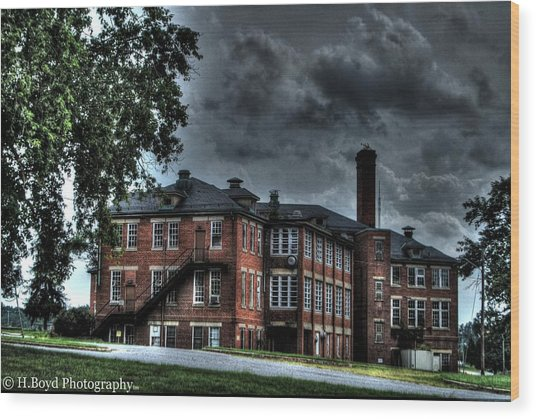 Crownsville Main Wood Print by Heather  Boyd