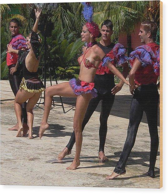 Cuba Dance Wood Print