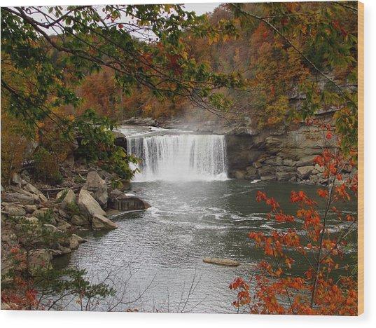 Cumberland Falls 2 Wood Print