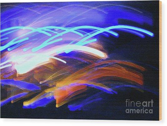 Curvaceous Color Wood Print