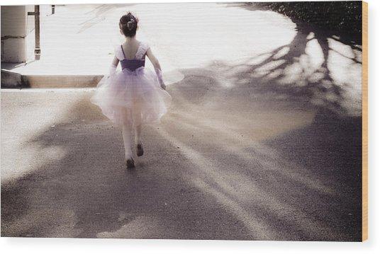Dancing In Dreamland  Wood Print by Denice Breaux