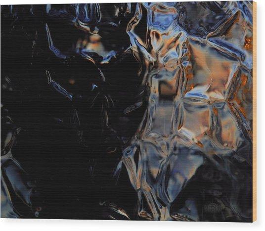 Dark Knight Wood Print
