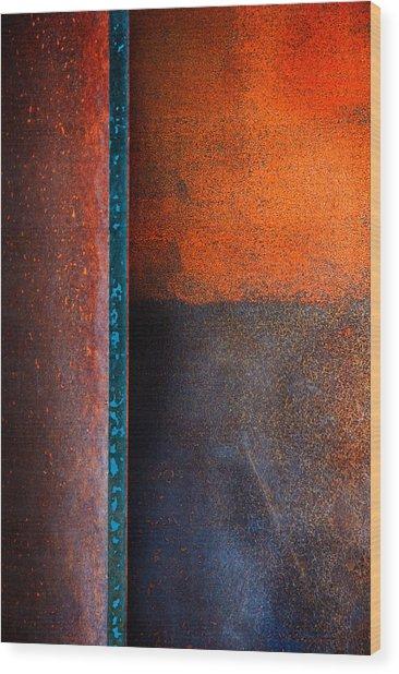 Dark Portal Wood Print
