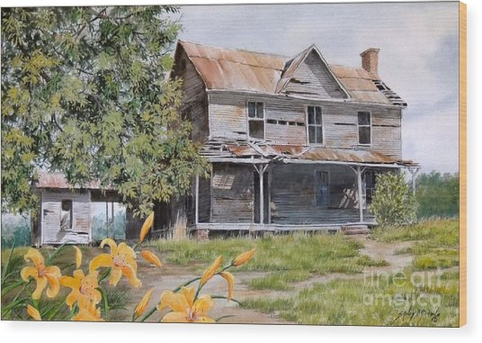 Days Gone By...sold Wood Print