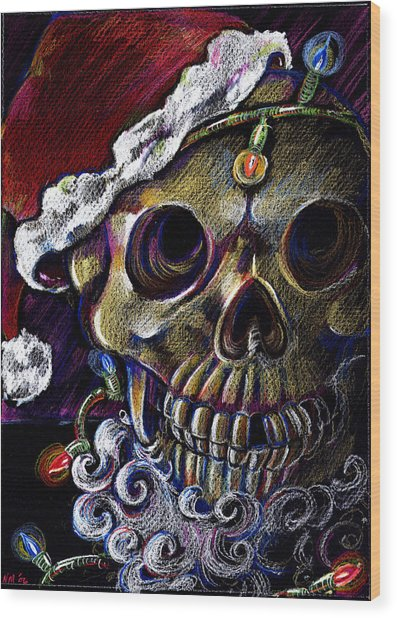 Dead Christmas Wood Print