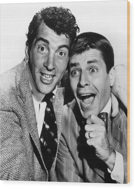 Dean Martin And Jerry Lewis Cut Photograph By Everett