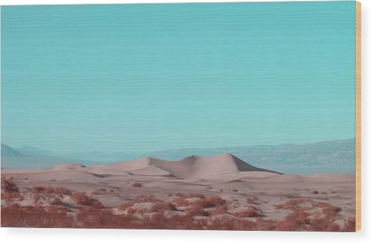 Death Valley Dunes 2 Wood Print