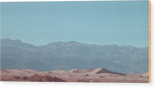 Death Valley Dunes Wood Print