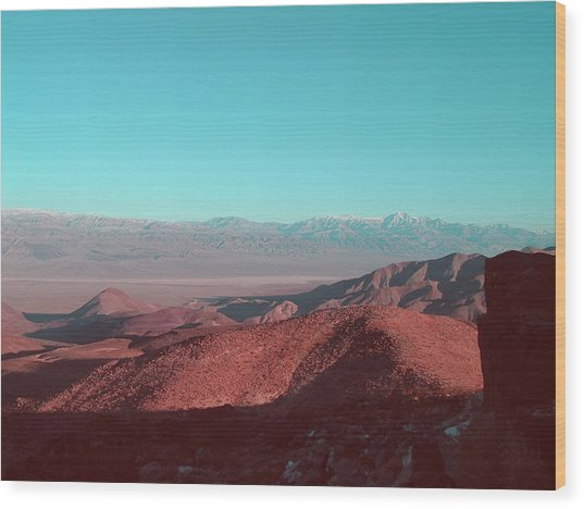 Death Valley View 1 Wood Print