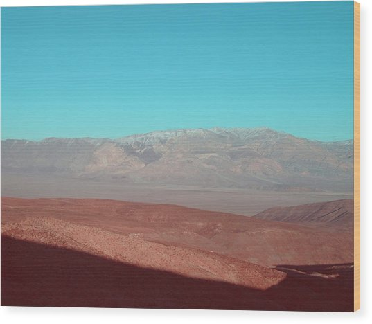 Death Valley View 3 Wood Print