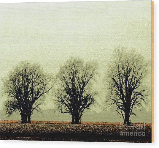 Delta Dust Wood Print